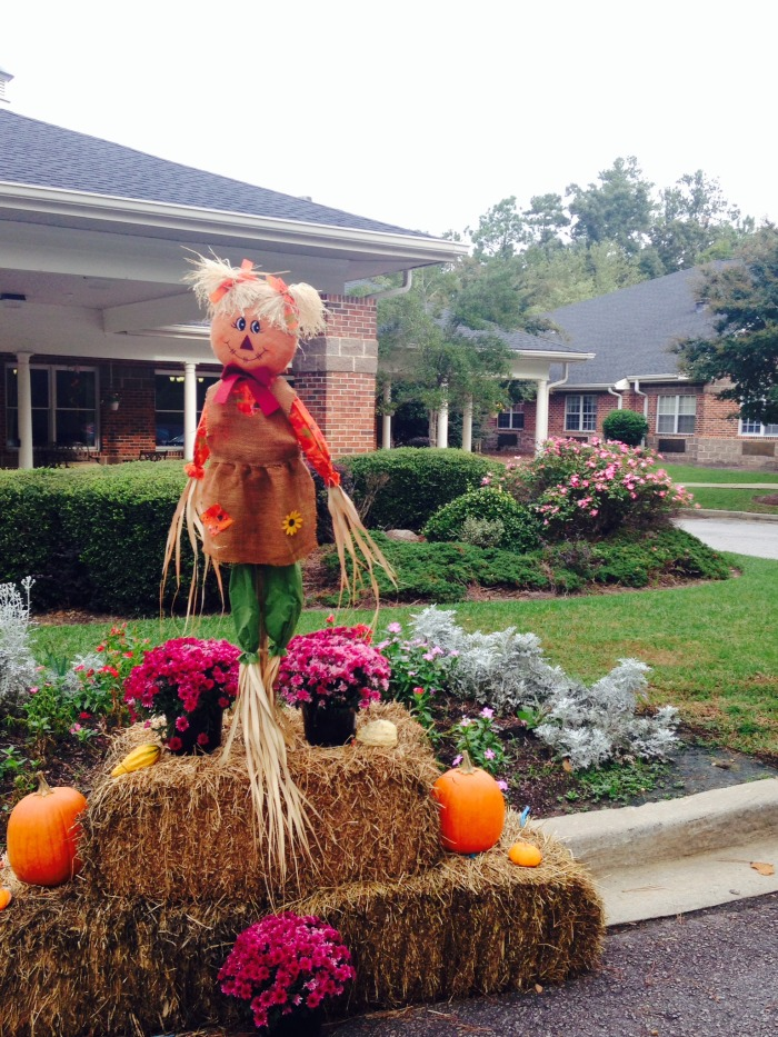Fall Decorations At HarborChase of Columbia